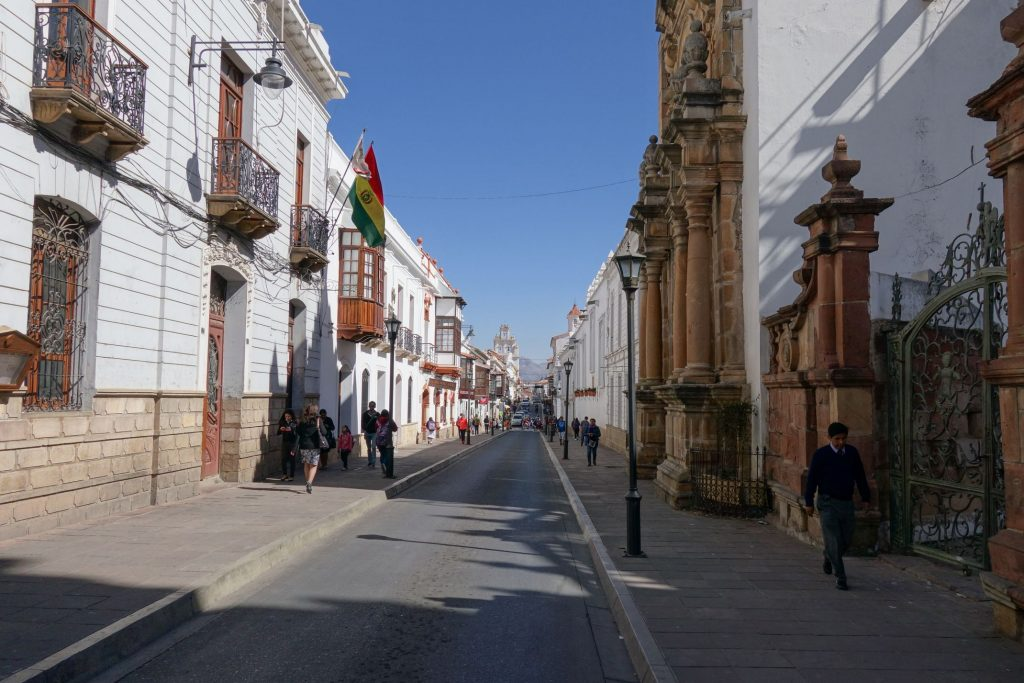Sucre_Bolivie_Rue