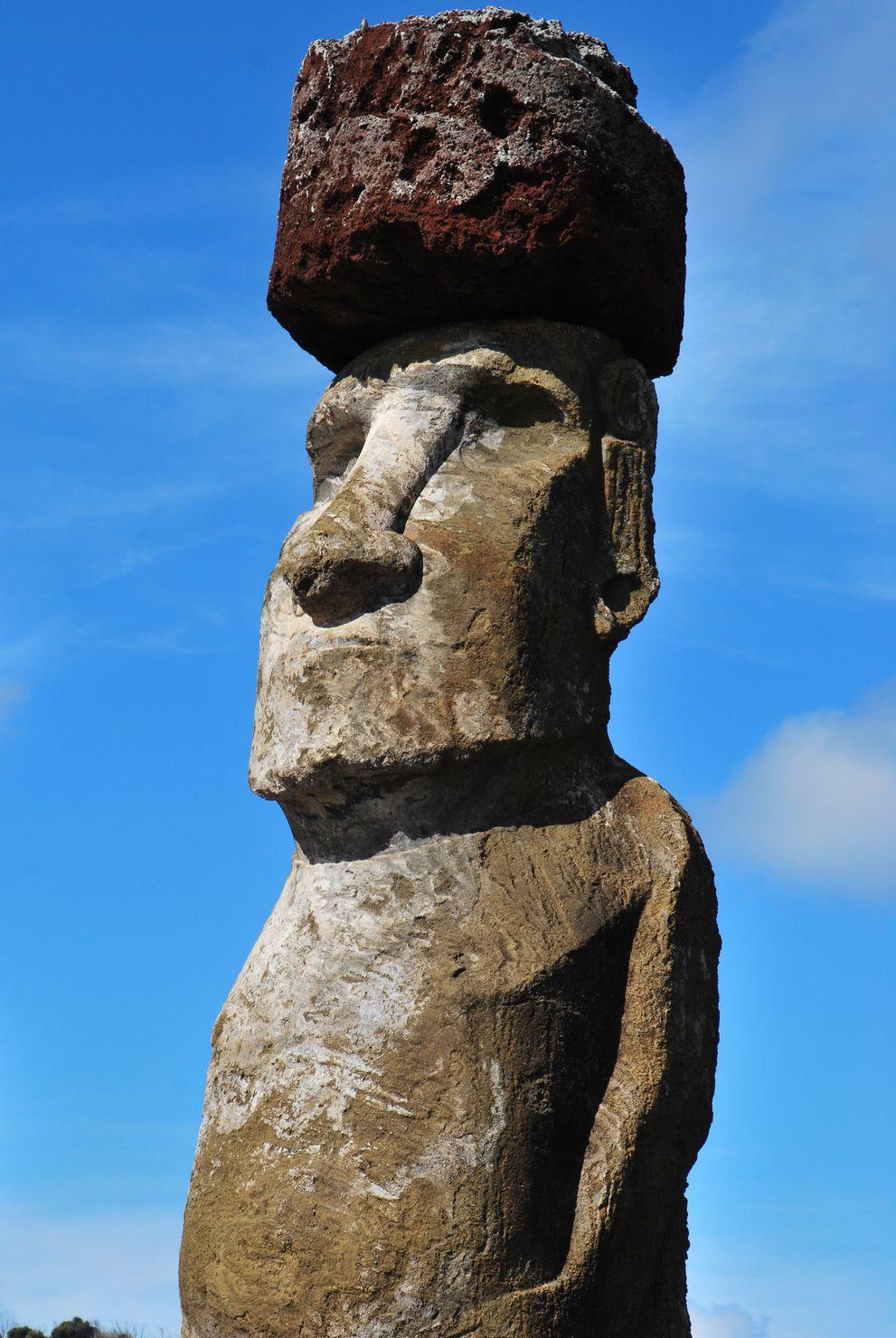 Ile de paques_Moai Pukao