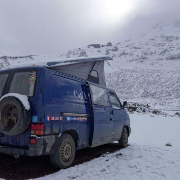 Equateur_Chimborazo sommet