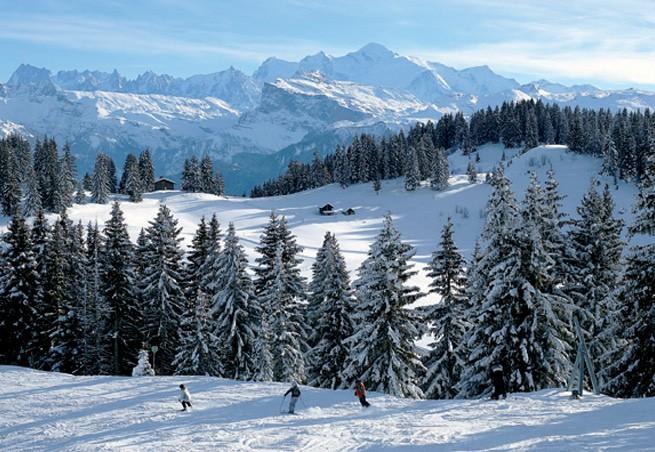 Station De Ski Les Gets Alpes Du Nord Haute Savoie