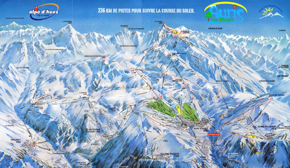 Station De Ski Auris En Oisans Alpes Du Nord Isre