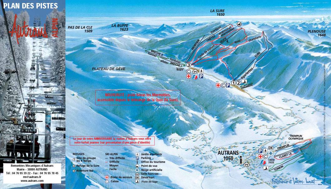 Station De Ski Autrans Alpes Du Nord Isre Vacances
