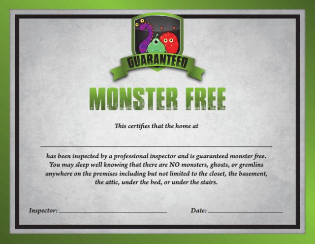 MonsterFreeCert