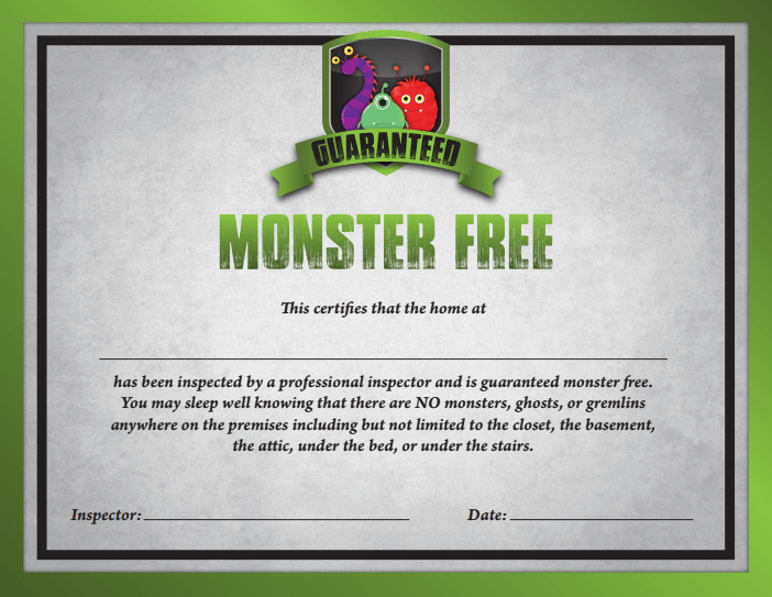 MonsterFreeCert