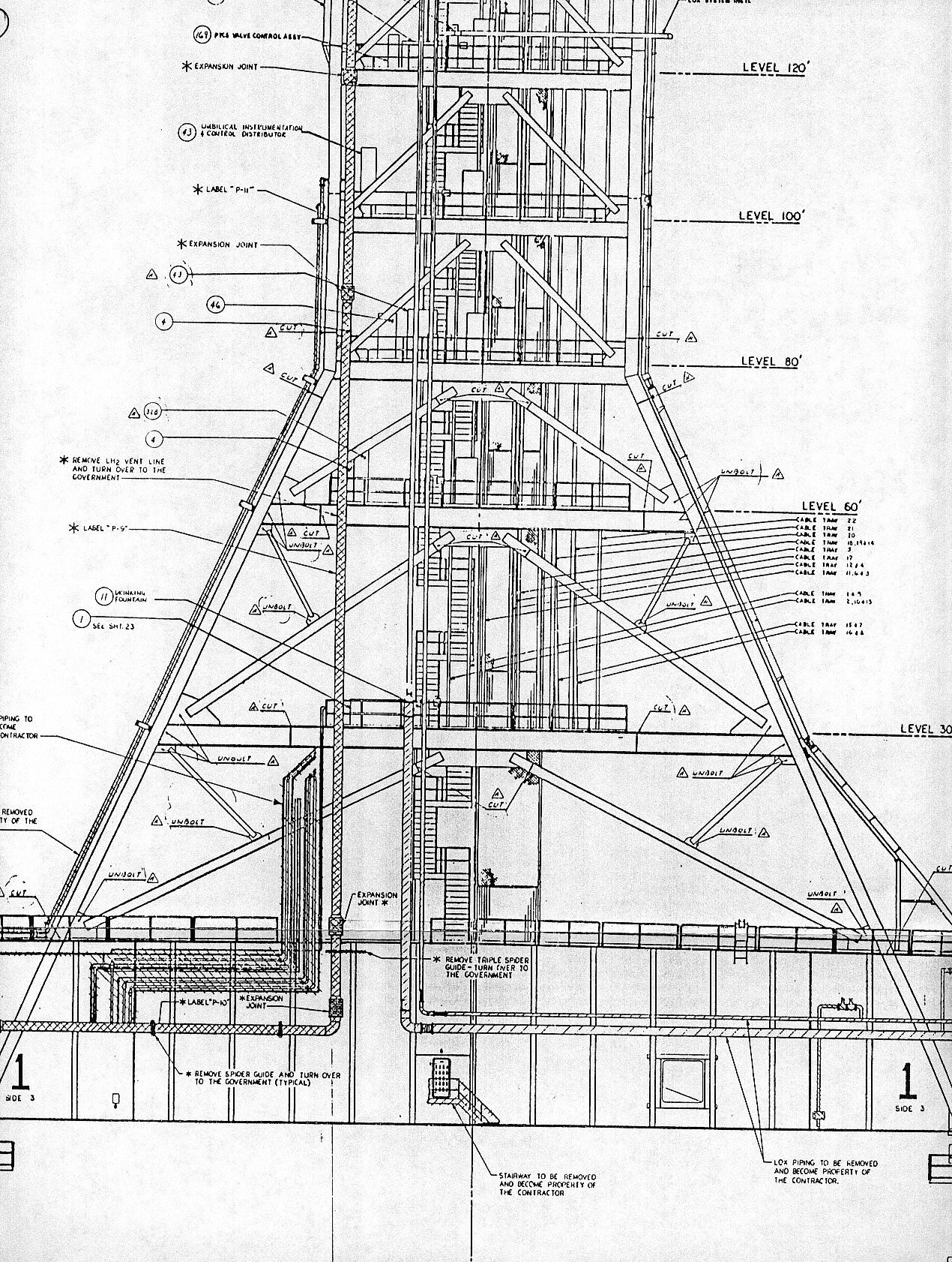 Space Shuttle Launch Tower Diagram Page 4