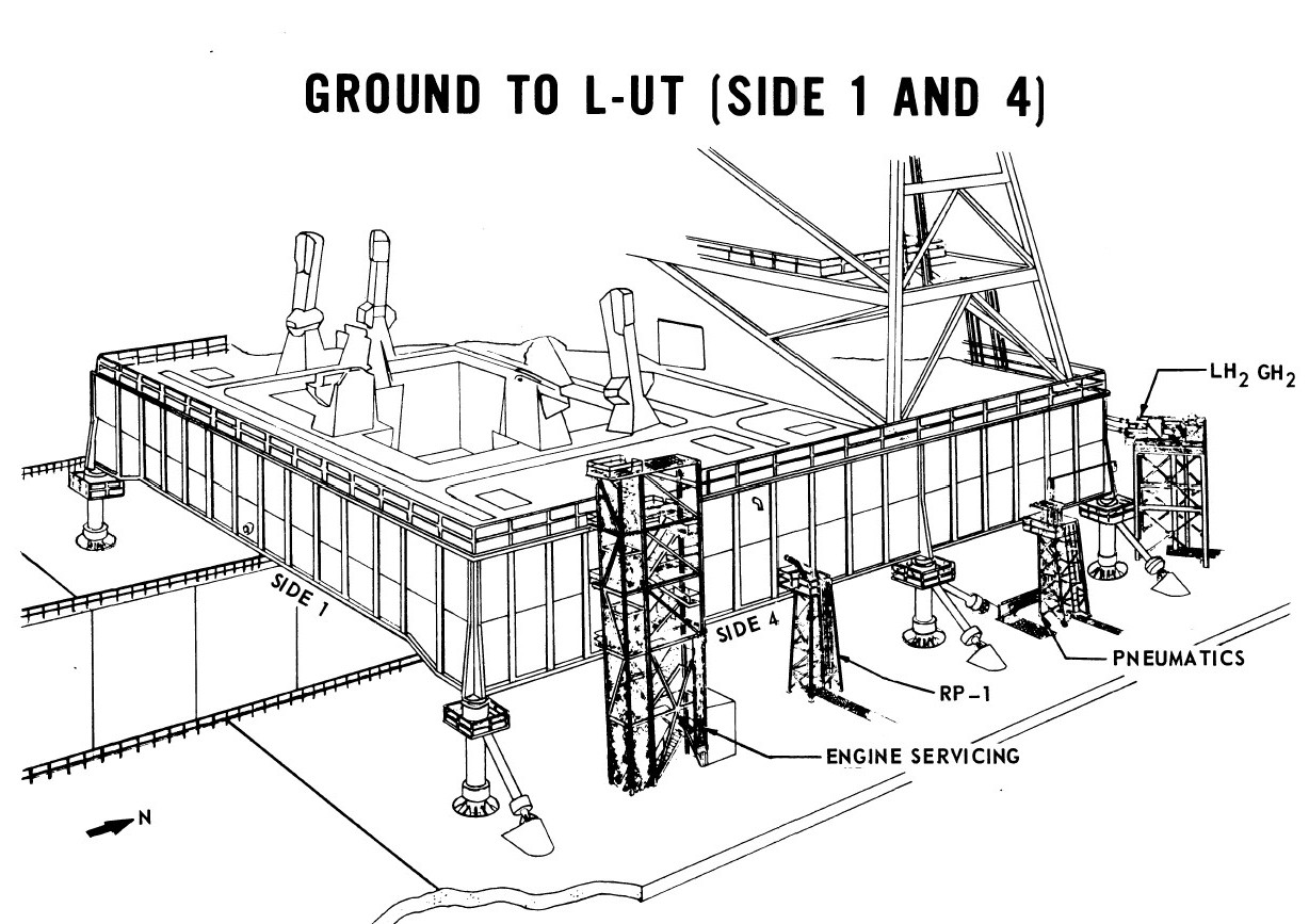 Space Shuttle Launch Tower Diagram Page 3