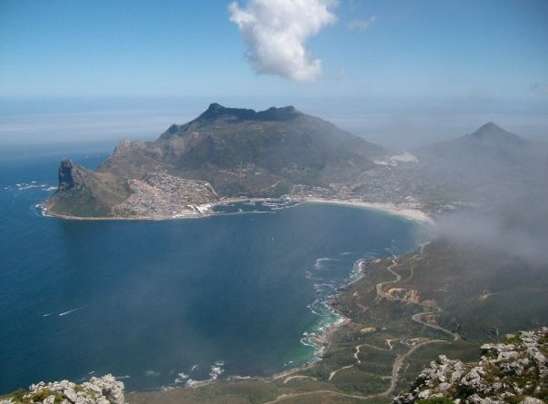 Hout Bay and The Sentinal from Noordhoek Peak