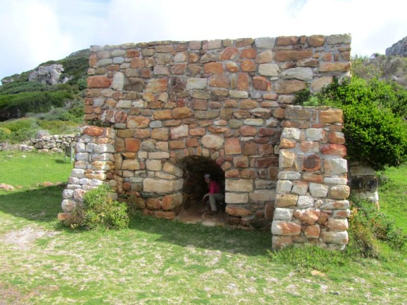 Lime kiln, Cape Point Nature Reserve