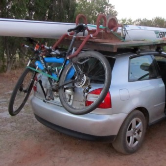 Thule 968 Carrier with Thule roofracks