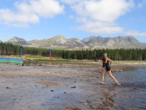 The French leaving the water, XTERRA Lite 2012