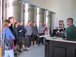 Wine tasting at Cederberg Wines, Dwarsrivier, Central Cederberg