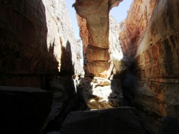 Rock arch inside Wolfberg Cracks, Central Cederberg