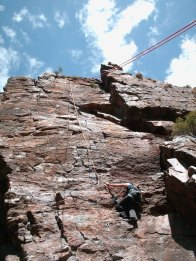The Gospel Express, Steeples Crag, Montagu