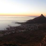 Lion's Head from Kasteelspoort, Table Mountain
