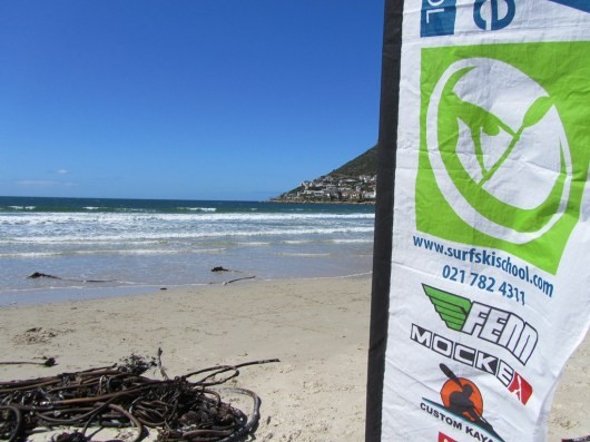 Surfski School on Fish Hoek Beach