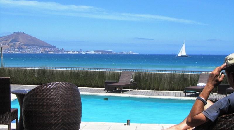 Lagoon Beach Hotel pool deck