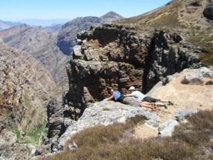 Groothoek Canyon, Matroosberg