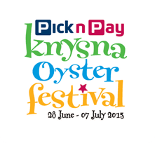 Knysna Oyster Festival 2013 logo