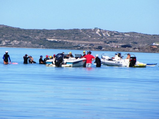 Langebaan Lagoon Crossing 2013