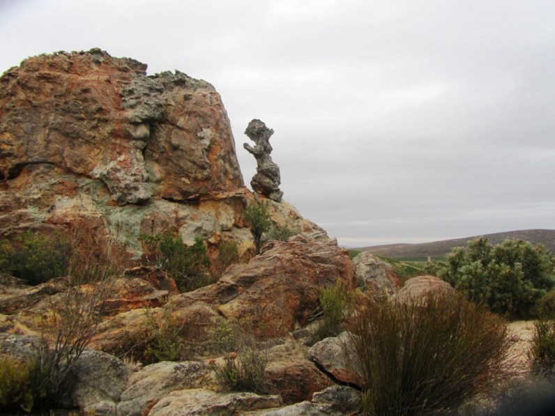 Lot's Wife rock formation