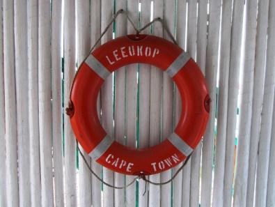 Lifebuoy, Stilbaai Harbour