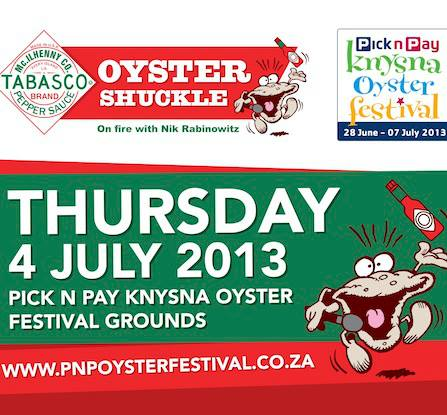 Oyster Shuckle 2013