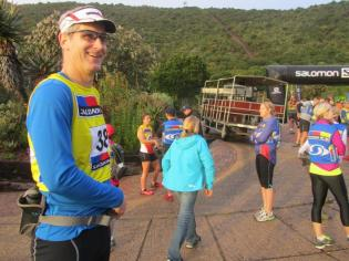 Salomon Featherbed Coelacanth Trail Run 2013