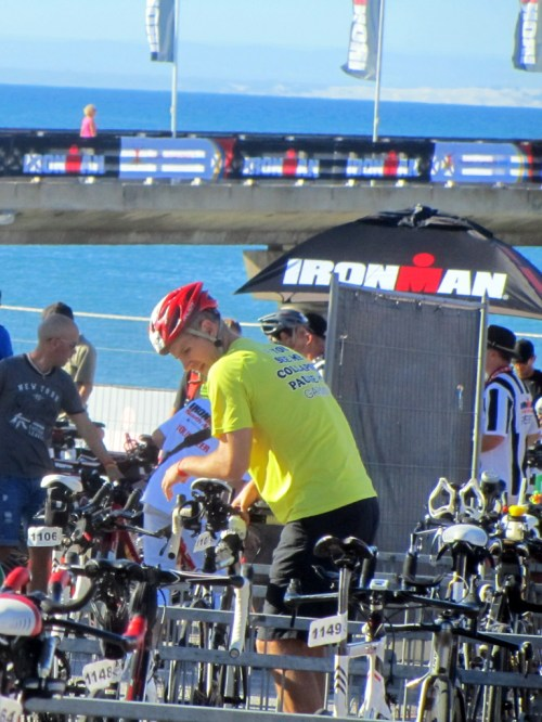 Bike check-in, IronMan South Africa 2014