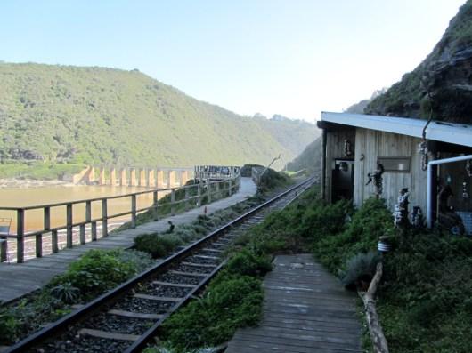 Kaaimans Bridge station