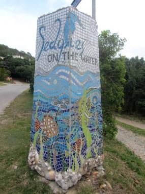 Mosaic post, Sedgefield Lagoon
