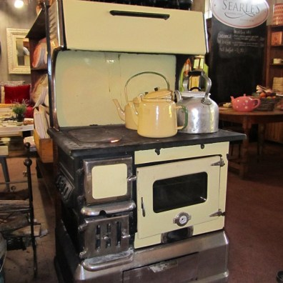 Woodburning stove, Searle's Trading Post