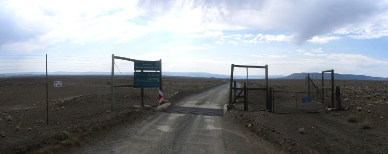 Entrance to the Tankwa Karoo National Park