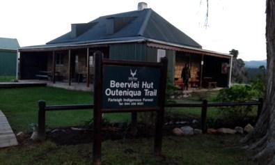 Beervlei Hut, Outeniqua Trail trailhead