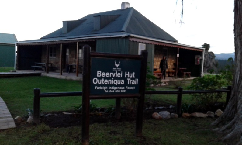 Beervlei Hut, Outeniqua Trail trailhead