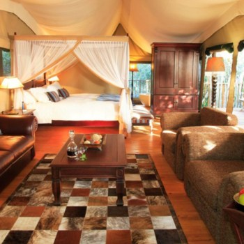 Botlierskop Tented Lodge Family Suite