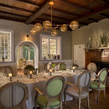 Botlierskop The Manor House Dinner Table