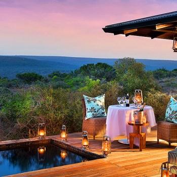 Ecca Lodge Outdoor Dining