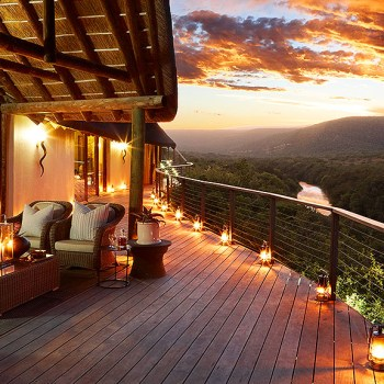 Great Fish River Lodge Deck Area