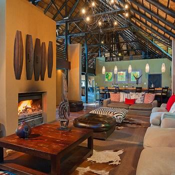 Kariega River Lodge Guest Lounge Area