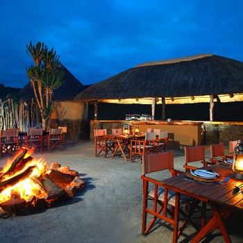 Kariega River Lodge Outdoor Dining Area