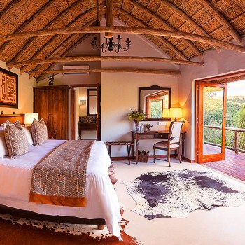 Lentaba Safari Lodge Bedroom Interior