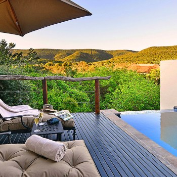 Lobengula Lodge Suite Pool Deck