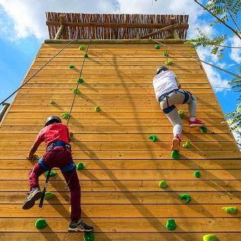 Riverdene Family Lodge  Climbing Wall