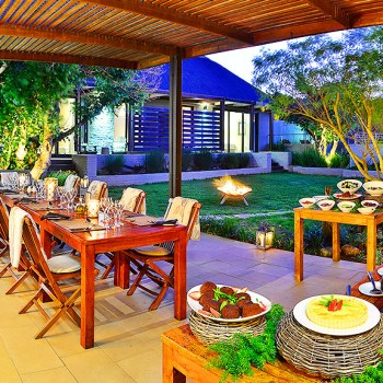 Sarili Lodge Delicious Food Spread