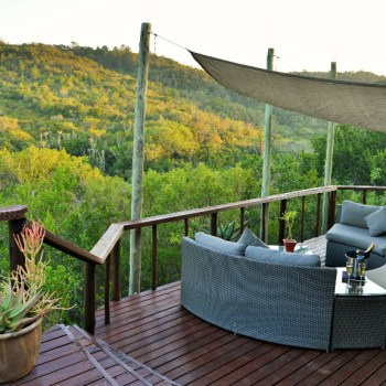 Sibuya Bush Lodge Deck