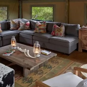 Tented Eco Camp Lounge