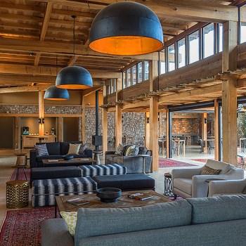 Ukhozi Lodge Kariega Lounge Area