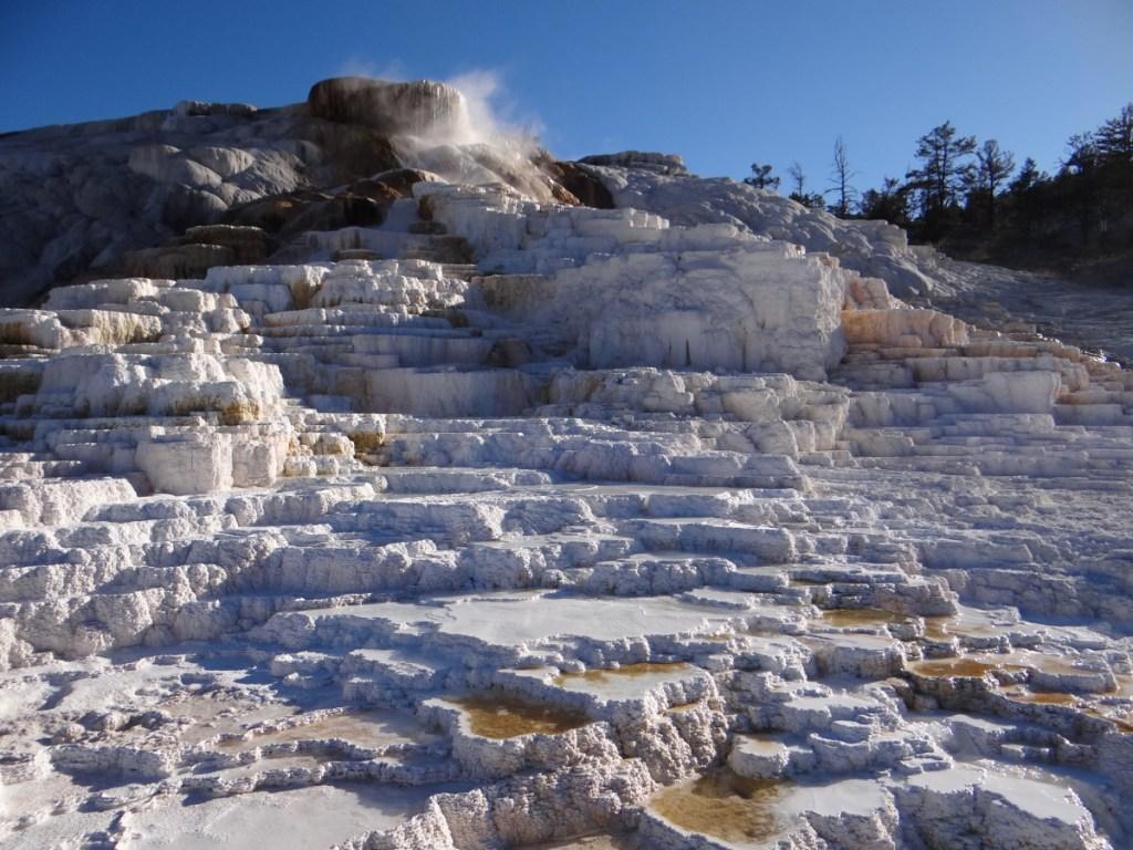 Mammoth Hot Springs Yellowstone // USA