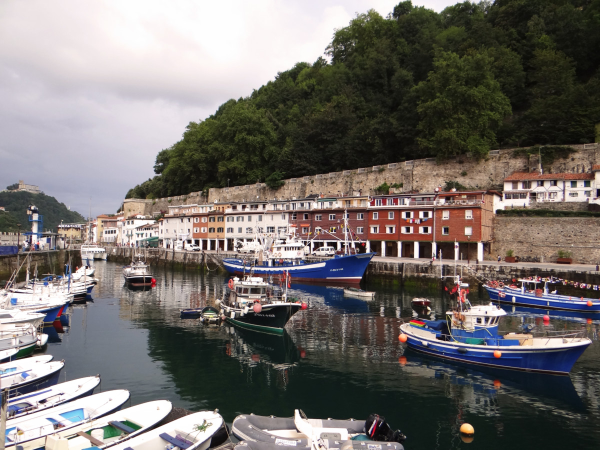 Spain San Sebastian Old Harbour