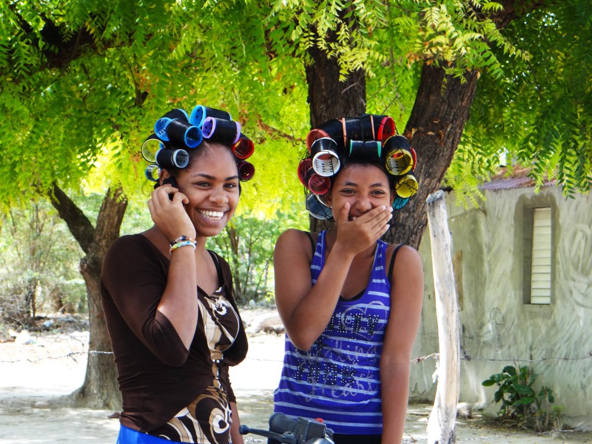 Pedernales girls // Dominican Republic
